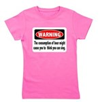 FIN-warning-beer-sing.png Girl's Tee