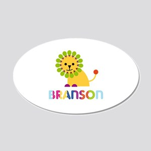 Branson Loves Lions Wall Decal