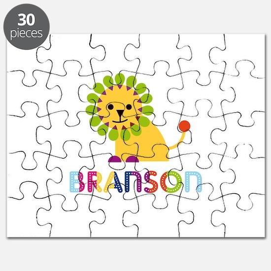 Branson Loves Lions Puzzle