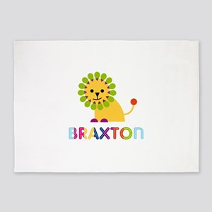 Braxton Loves Lions 5'x7'Area Rug