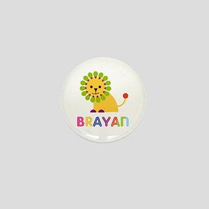 Brayan Loves Lions Mini Button