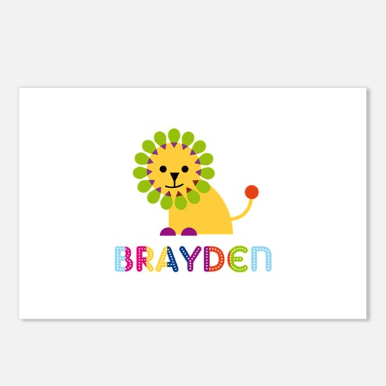 Brayden Loves Lions Postcards (Package of 8)