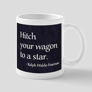 Hitch your wagon to a star Mug