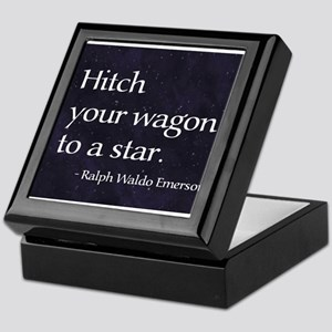 Hitch your wagon to a star Keepsake Box