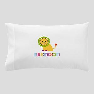 Brendon Loves Lions Pillow Case