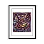 Ancient America Framed Panel Print