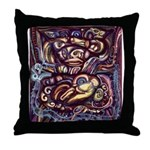 Ancient America Throw Pillow