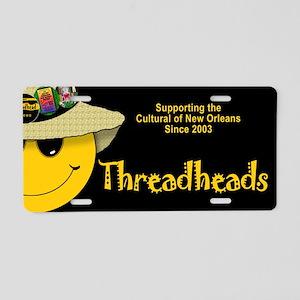 Threadhead Aluminum License Plate (black)