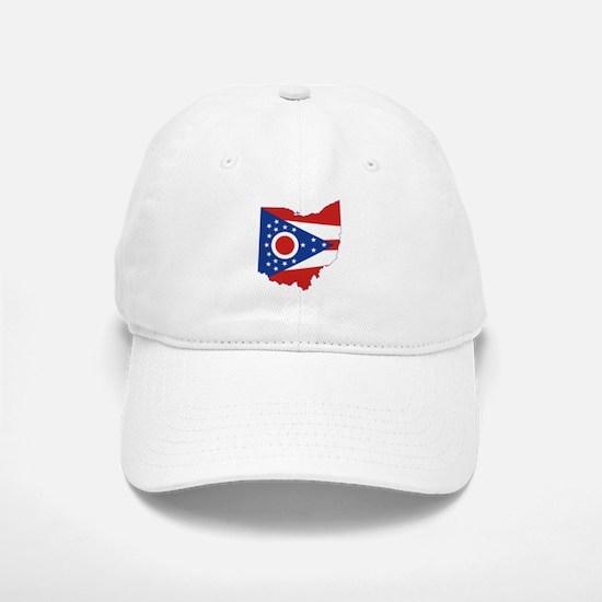 Ohio Flag Baseball Baseball Cap