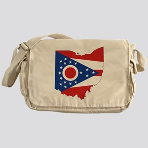 Ohio Flag Messenger Bag