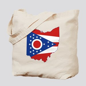 Ohio Flag Tote Bag