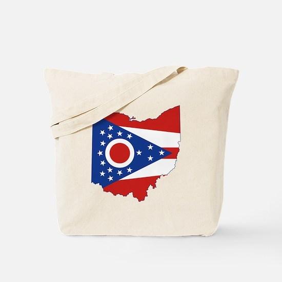 Ohio Flag Tote Bag
