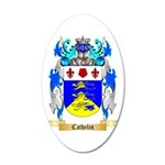 Cathelin 35x21 Oval Wall Decal