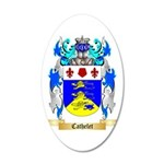 Cathelet 35x21 Oval Wall Decal