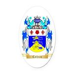 Catheau Oval Car Magnet
