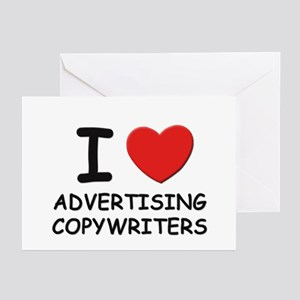 I love advertising copywriters Greeting Cards (Pac