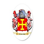 Caterton Oval Car Magnet