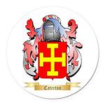 Caterton Round Car Magnet