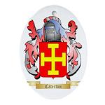 Caterton Ornament (Oval)