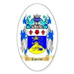 Caterini Sticker (Oval 50 pk)