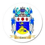 Catera Round Car Magnet