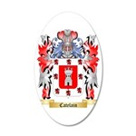 Catelain 35x21 Oval Wall Decal