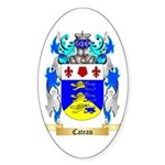Cateau Sticker (Oval 10 pk)
