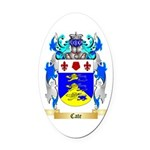 Cate Oval Car Magnet