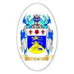 Cate Sticker (Oval 50 pk)