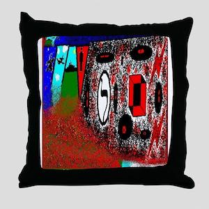 Lamed - LaLaLa by Brett Fletc Throw Pillow