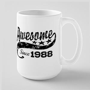 Awesome Since 1988 Large Mug