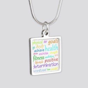 Fitness Collage Necklaces