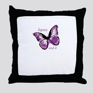 lupus end it Throw Pillow