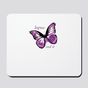 lupus end it Mousepad