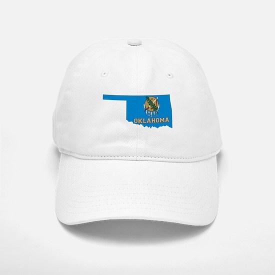 Oklahoma Flag Baseball Baseball Cap