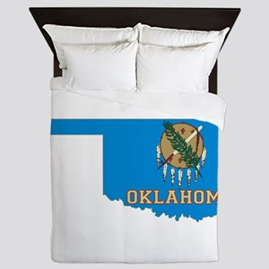 Oklahoma Flag Queen Duvet