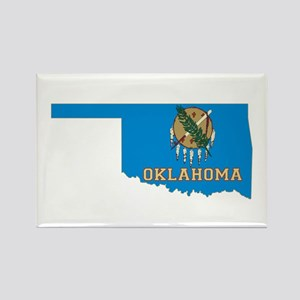 Oklahoma Flag Rectangle Magnet