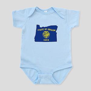 Oregon Flag Infant Bodysuit
