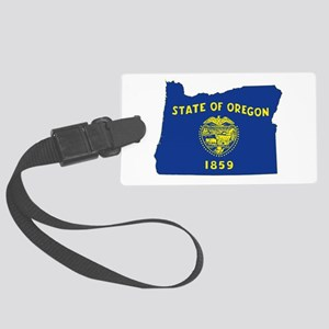 Oregon Flag Large Luggage Tag
