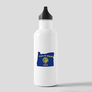 Oregon Flag Stainless Water Bottle 1.0L
