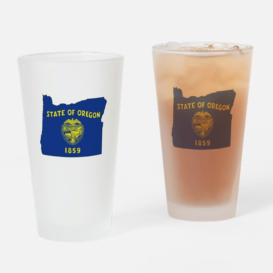 Oregon Flag Drinking Glass