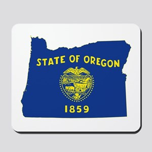 Oregon Flag Mousepad