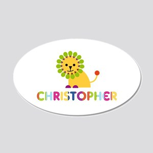 Christopher Loves Lions Wall Decal