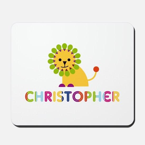 Christopher Loves Lions Mousepad