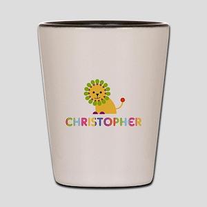 Christopher Loves Lions Shot Glass