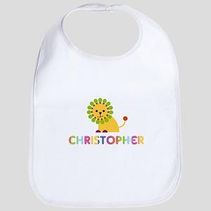 Christopher Loves Lions Bib