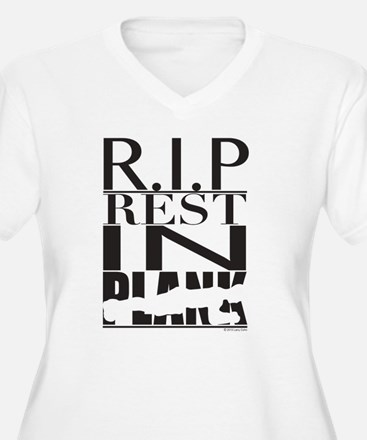 RESTinPlank_300_for Lights-01 Plus Size T-Shirt