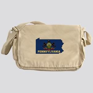 Pennsylvania Flag Messenger Bag