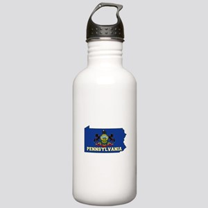 Pennsylvania Flag Stainless Water Bottle 1.0L