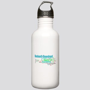 Voting is our right II Water Bottle